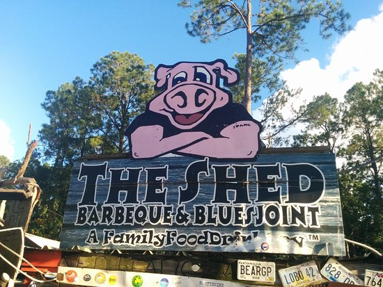 Ocean Springs, MS: Welcome to the Shed.