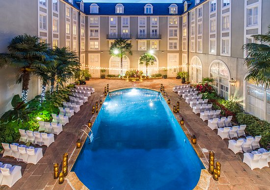 Bourbon Orleans Hotel: Courtyard Weddings & Events