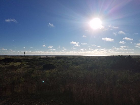 Ocean Shores, WA: View from the balconey