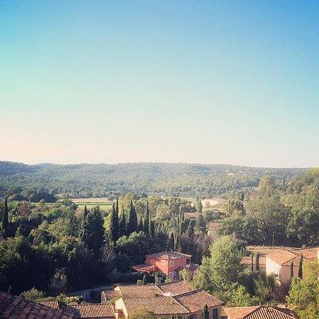 Калльян, Франция: Utsikt på Residence Vacances Bleues - Le Chateau de Camiole