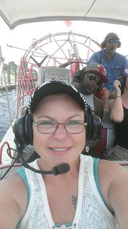 Spirit of the Swamp Airboat Tours: 20160726_135158_large.jpg
