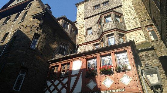 The front of Hotel Kranenturm.