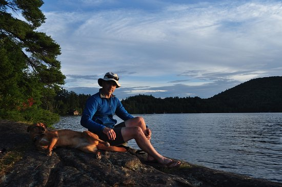 St. Regis Canoe Outfitters: Upper Saranac Lake: campsite #20