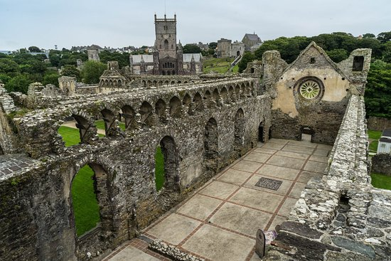St. Davids, UK: From the tower