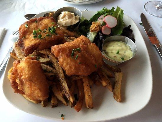 Bonaventure, Canada: fish and chips