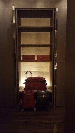 โรงแรมพาร์ค ไฮแอท เซี่ยงไฮ้: Parte de la zona de placares