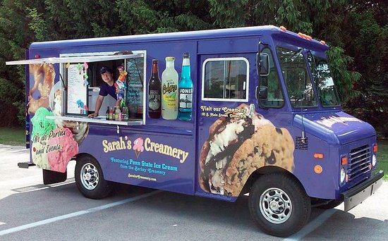 sarah s creamery mobile ice cream truck perfect for weddings