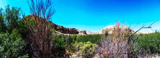 Alpine, Teksas: Big Bend near the hot springs on the Rio Grande