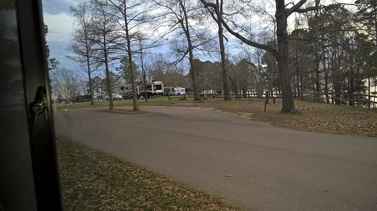 Oakland, MS: Campground in winter