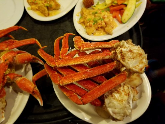Bayou Bill's Crab House: Snow crab