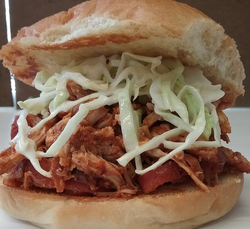 Marmora, Kanada: Pulled Chicken with Coleslaw