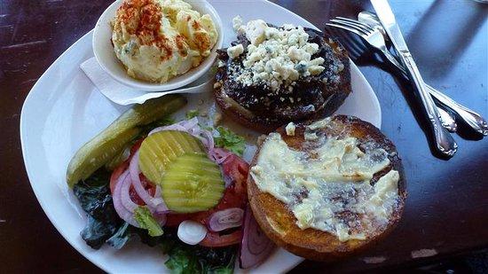 Silverton, Όρεγκον: Bacon Bleu Burger