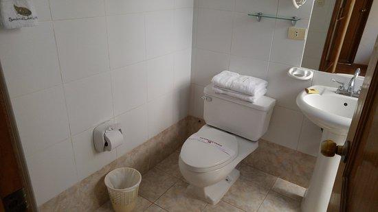 Hotel Awki's Dream: baño