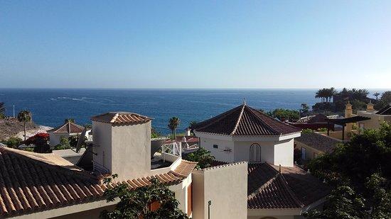 Gran Tacande Wellness & Relax Costa Adeje: Vista dalla camera situata al V piano palazzina san-sofe