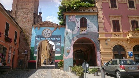 Dozza, Italia: RISTORANTE LA SCUDERIA
