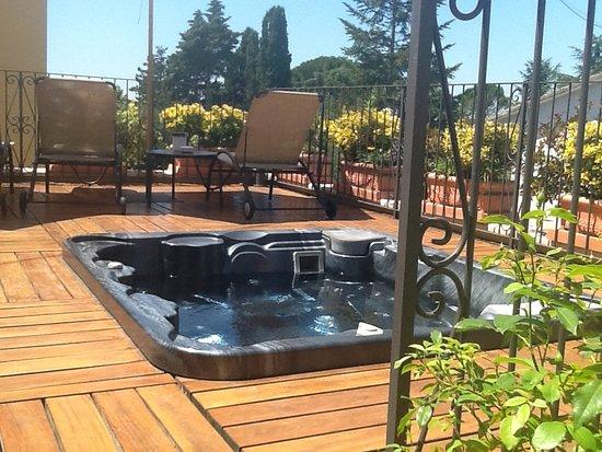 Hotel Corsignano - Pienza: Terrace