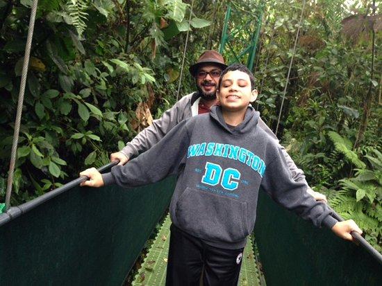 Santa Elena, คอสตาริกา: hanging bridges