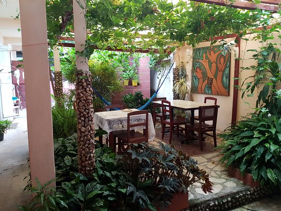 Casa Daniel Perez Carcases : patio