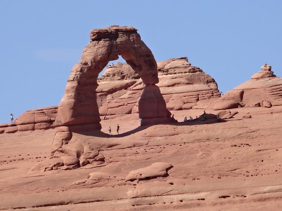 Arches National Park is a short drive from Castle Valley Inn.