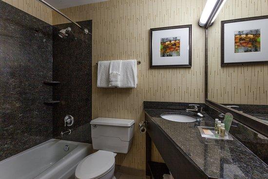 Evanston, IL: Guest Room Bathroom