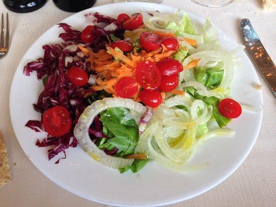 Abetone, Italia: insalata mista