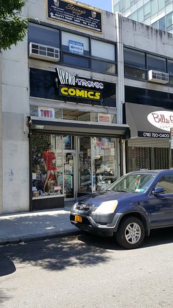 Staten Island, estado de Nueva York: Fantastic Independent comic book shop with lots of model and other interesting finds. A real tre