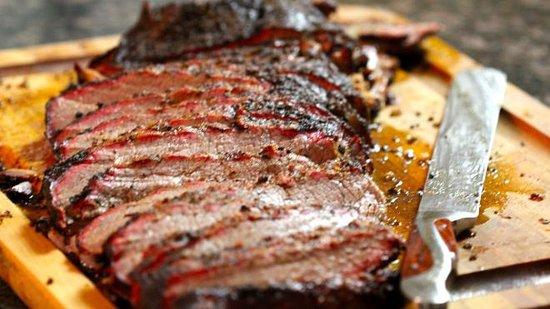 Charleston, IL: Pop's smoked beef brisket