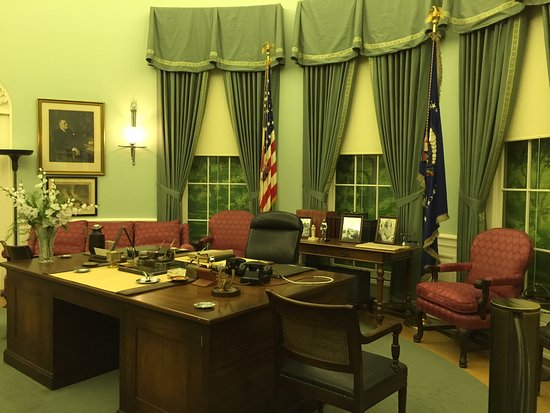 Independence, MO : The Truman Oval Office