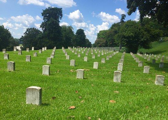 Vicksburg, MS: Gorgeous National Cemetery