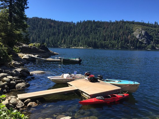 Pinecrest, CA: private dock