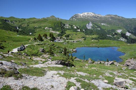Бург-Сен-Морис, Франция: arrêt repas au lac des fées