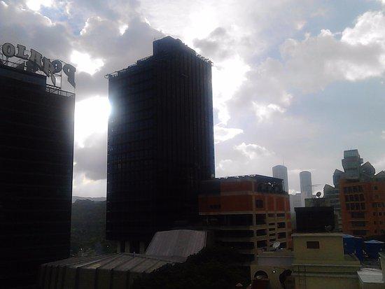 Hotel Plaza de Venezuela : Vista desde la Habitacion de la Torre Polar