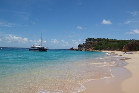 Grand-Case, St. Martin/St. Maarten: första ön utanför själva Saint Martin