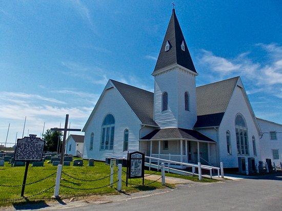 Methodist Church on Tangier Island