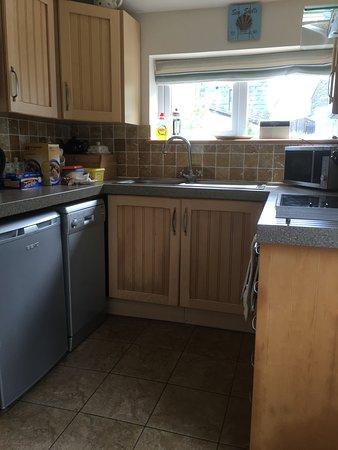 Delabole, UK: Kitchen added bonus dishwasher