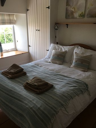 Delabole, UK: Comfy bed