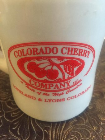 Lyons, CO: Coffee and cherry pie were a winning combo.