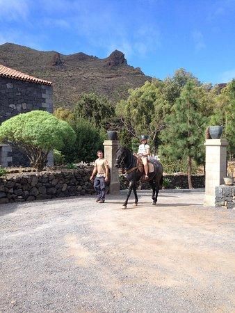 Santiago del Teide, Espagne : Конные прогулки
