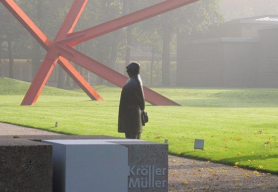 Kröller-Müller-Museum: parece hicthkock pero no lo es