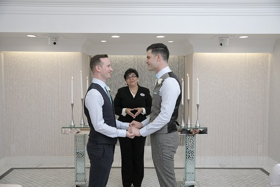 Same-Sex Wedding Packages at Chapel of the Flowers in Las Vegas