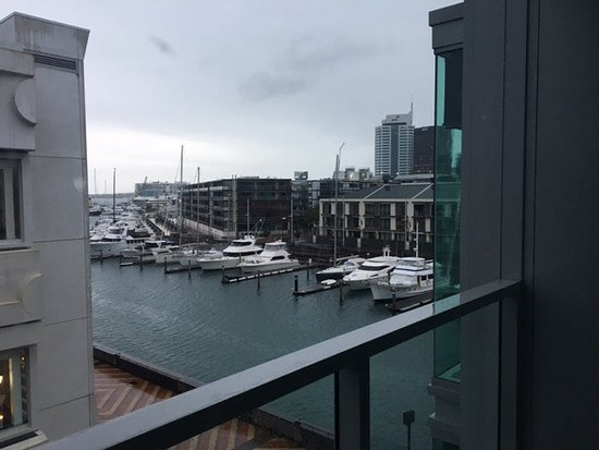 Sofitel Auckland Viaduct Harbour: View from our room!