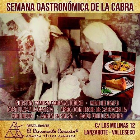 Valleseco, Spanien: Jornadas de la Cabra