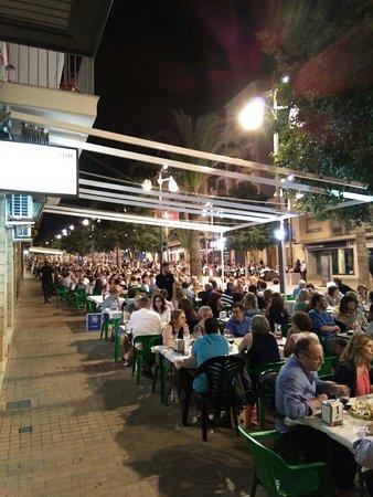 Cocentaina, Hiszpania: Bar Monte