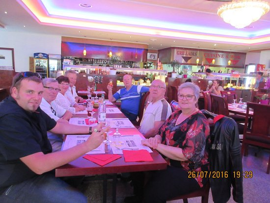 Wintzenheim, Francia: à l'arriver au restaurant