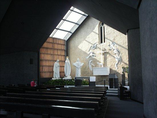 Knock, أيرلندا: vieja capilla, lugar de la aparición