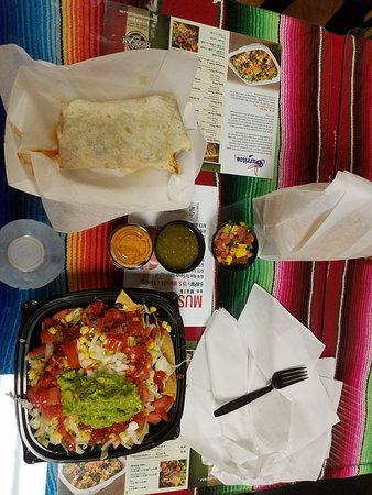 Yardley, PA: Burrito and Nacho Libre