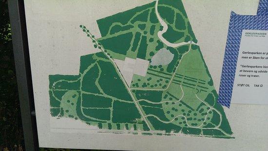 Kort Over Parken Picture Of Gerlevparken Jaegerspris Tripadvisor