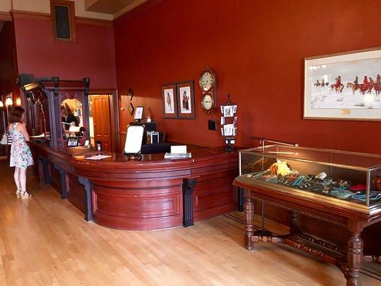 Fort Benton, MT: Hotel Lobby