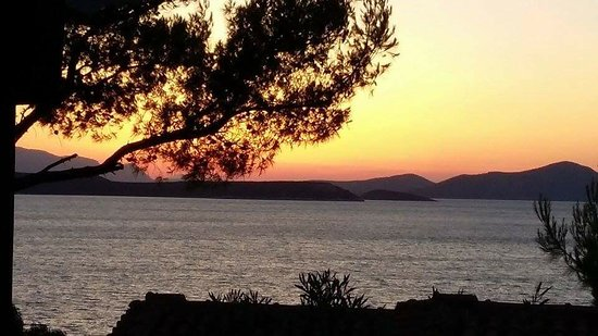 Styra, Greece: View from our balcony
