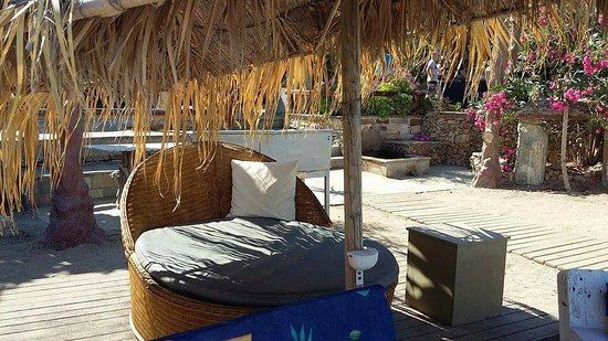 Styra, Greece: Comfortable funky furniture
